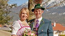 Private Hochzeit mit Babybauch: Magdalena Neuner ist jetzt Frau Holzer