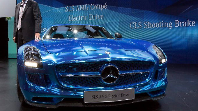 Tuner rüsten den SLS auch zum Elektromobil um.