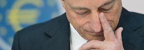 Druck auf Draghi steigt: Mini-Teuerung schürt Deflationsangst