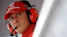 Schumacher 2008 in Monza.
