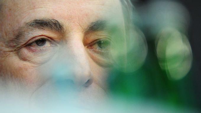 """""""Unkonventionelle Maßnahmen"""" sind für EZB-Präsident Draghi mittlerweile denkbar."""