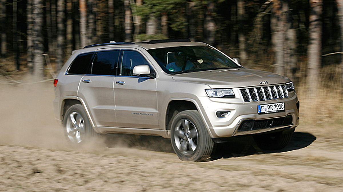 Jeep Cherokee strotzt vor Kraft