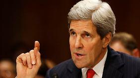 Nato erhöht Zahl der Kampfflieger: Kerry wirft Russland gezielte Provokation in der Ukraine vor