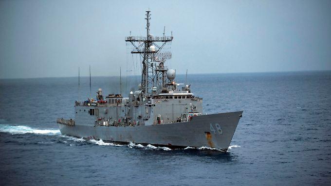 Ein Schiff der US Navy - sie hofft auf neue Energiequellen für ihre Flotte.