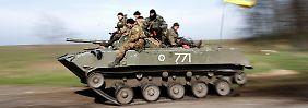 Tote und Verletzte im Osten des Landes: Ukrainische Soldaten wehren Angriff ab