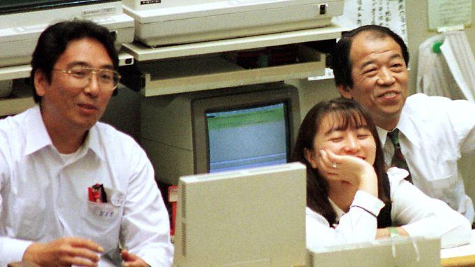 Vorfreude aufs Wochenende? Ein Handelstag steht in Asien noch aus.