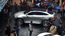 Auf der Auto China in Peking prescht Mercedes mit seinem neuen Concept Coupé SUV vor.