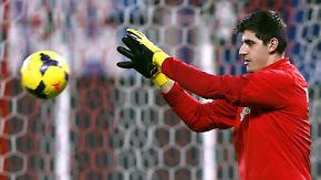 Keeper Courtois in der Zwickmühle: Atletico empfängt Chelsea zum CL-Halbfinale