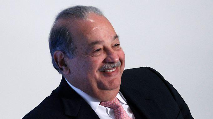 Carlos Slim kann sich freuen: Mit der Kontrolle über die Telekom Austriamacht er sich unabhängiger vom südamerikanischen Heimatmarkt.