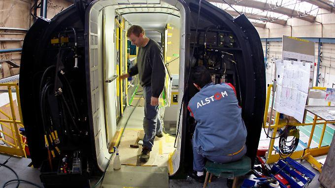Mega-Deal der Siemens-Konkurrenz?: General Electric plant angeblich Mega-Übernahme von Alstom