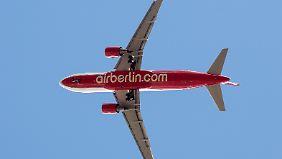450 Millionen Euro sollen Air Berlin wieder profitabel machen.