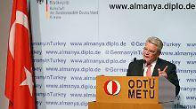 Heikler Türkei-Besuch: Gauck attackiert Erdogan scharf