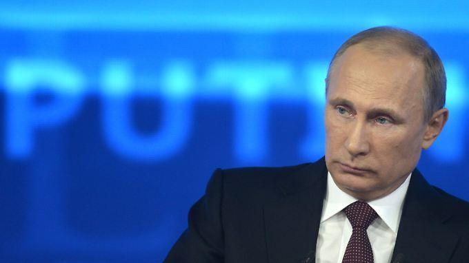 Für Russlands Präsidenten Wladimir Putin sind die neuen Zahlen wenig erfreulich.