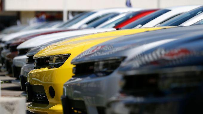 GM liegt in der Käufergunst weiter vorn.