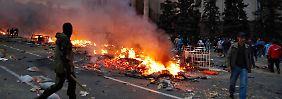Brand-Tragödie in Odessa: Ukraine droht das Chaos