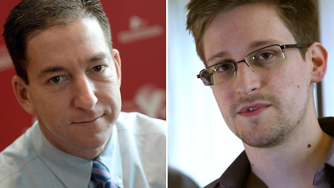 Schlüsselfiguren im NSA-Skandal: Glenn Greenwald und Edward Snowden.