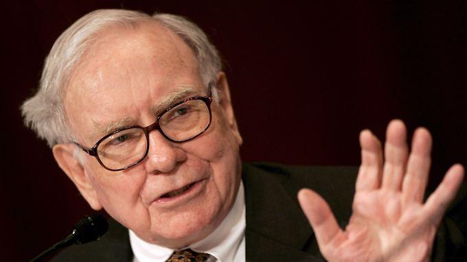 Anleger bleiben trotzdem Fans: US-Starinvestor Buffett muss Quartalsdelle verkünden