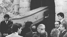 Gruft in Frankreich geöffnet: Grab von Romy Schneider beschädigt