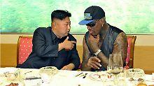 Der Tag: Dennis Rodman will für Nordkorea vermitteln