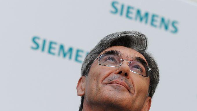 Joe Kaeser will Siemens zukunftssicher machen.