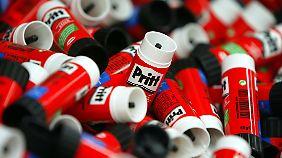 Weltspitze bei Klebstoffen: Henkel freut sich über gut gefüllte Kassen