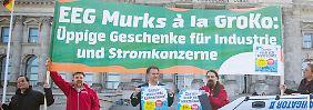 Heftige Debatte im Bundestag: Parteien raufen sich um das EEG