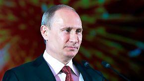 Vor der jährlichen Militärparade: Putin beaufsichtigt Raketentest persönlich