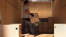 Kisten packen, weil der Vermieter Eigenbedarf angemeldet hat. Foto:Kai Remmers