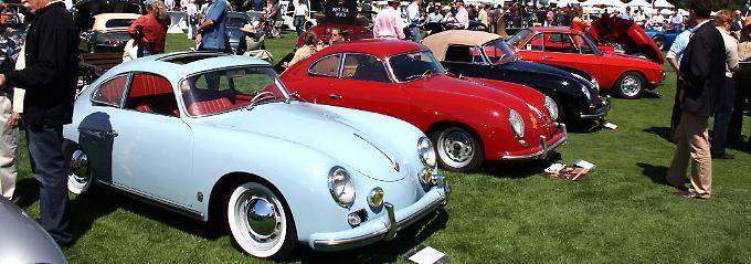 Selbst vor den noblen Veranstaltungen in Pepple Beach macht die Wirtschaftskrise nicht Halt. Die Preise für die verkauften Porsche 356 bleiben unter den Erwartungen.