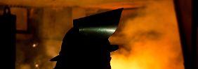 Ende einer langen Talfahrt: Heißer Frühling in der Stahlbranche