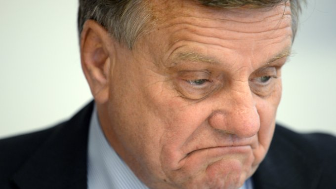 Flughafenchef Mehdorn dürfte der Bericht des Rechnungshofes nicht allzu gut gefallen.