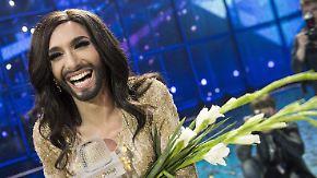 Promi-News des Tages: Conchita Wurst holt den ESC nach Wien