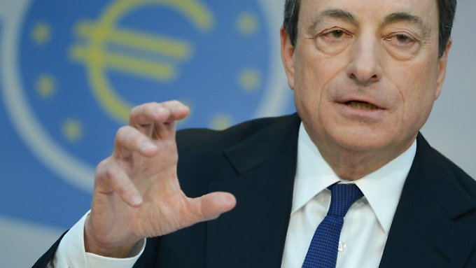 Risiken für Europas Wachstum: Draghi schmeißt die Kreditmaschine an