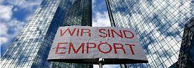"""""""Hört auf. Jetzt sofort"""": Deutsche Bank fordert Manieren ein"""