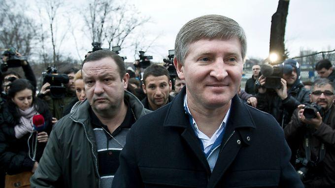 Rinat Achmatow will eine Autonomie der Kohleregion Donbass verhindern.