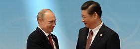 Russisches Gas für China: Moskau und Peking schließen Milliarden-Deal