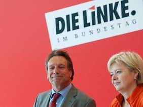 Seit dem Mai sind Klaus Ernst und Gesine Lötzsch die Vorsitzenden der Linkspartei.