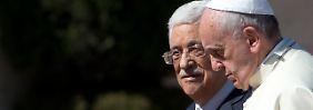 Friedensinitiative in Betlehem: Papst lädt Peres und Abbas zum Gebet ein