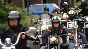 Köln kommt unter die Räder: Tausende Biker feiern 111. Geburtstag von Harley Davidson