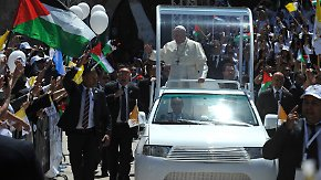 Papstbesuch in Israel: Franziskus gedenkt der Opfer des Holocaust