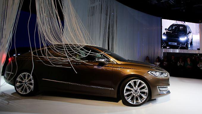 Ford Vignale-Modell auf der IAA