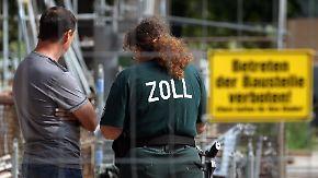 Zoll-Spezialtruppe wird verstärkt: Bund sagt Schwarzarbeit den Kampf an