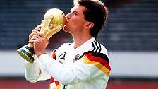 ... sowohl Lothar Matthäus (25 WM-Spiele), ...