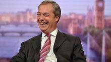 Ukip-Chef Nigel Farage sieht rosigen Zeiten entgegen.