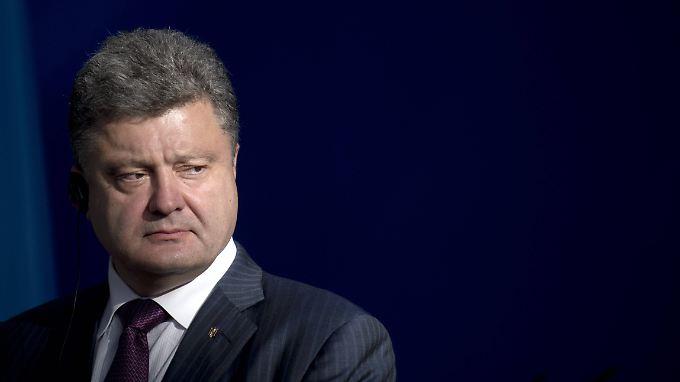Petro Poroschenko will sein Land in die EU führen.