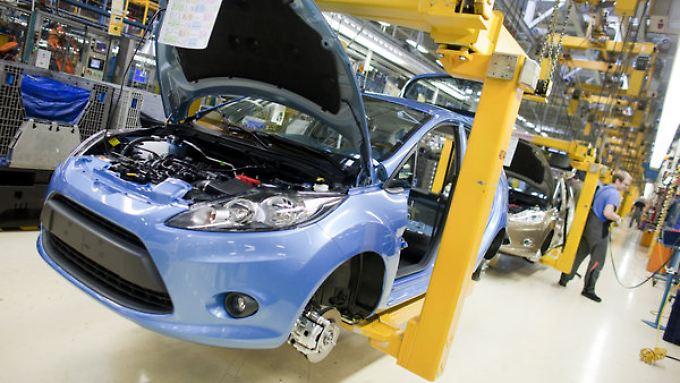 Ford baut auch die kommende Fiesta-Generation in Köln.