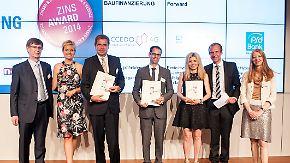 n-tv Ratgeber: Preisträger des Zins-Award 2014 gekürt