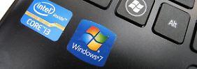 Prognose angehoben: Ende von Windows XP erfreut Intel