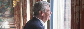 Gauck äußerte sich zum Abschluss eines Staatsbesuchs in Norwegen.