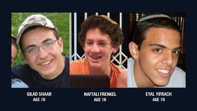 An der Entführung dreier Teenager entzündet sich in sozialen Netzwerken ein Streit zwischen israelis und Palästinensern.